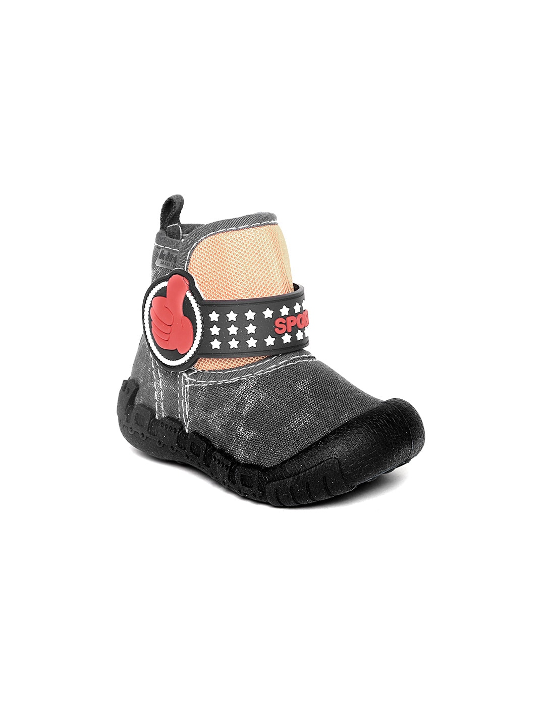 Kittens Boys Black Boots