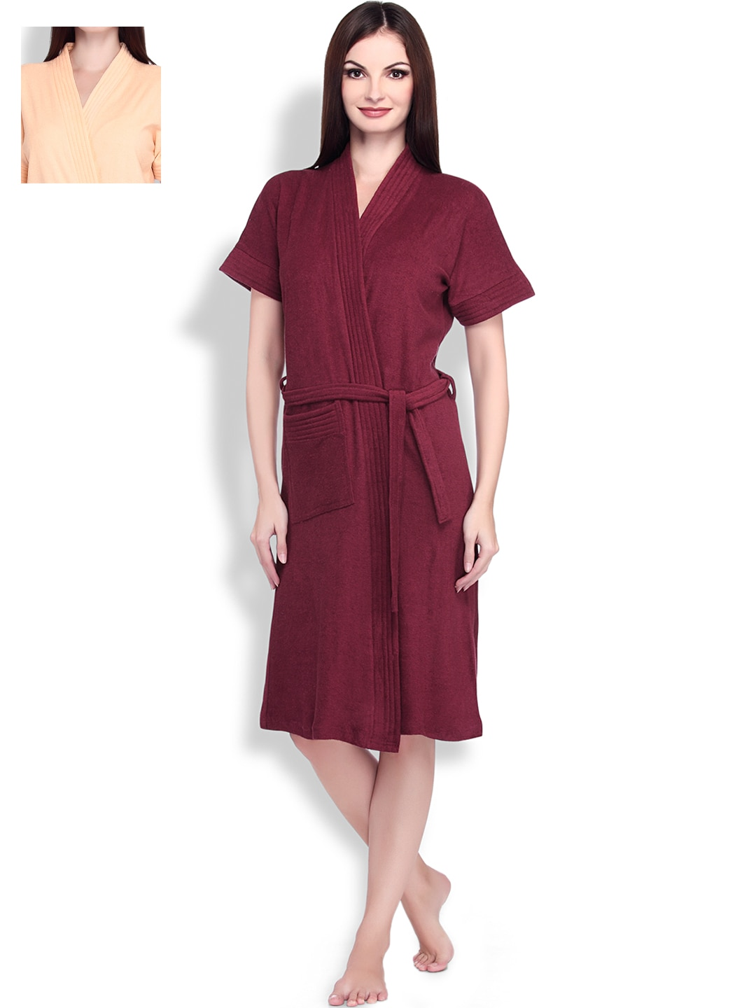 ef722465c Women Nightwear Robe - Buy Women Nightwear Robe online in India