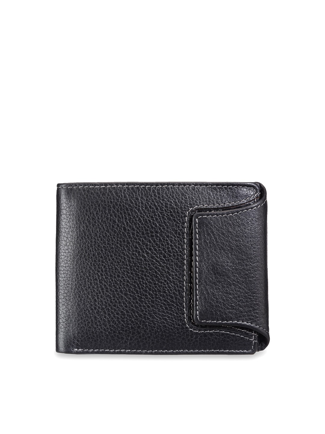 Teakwood Leathers Men Black Wallet