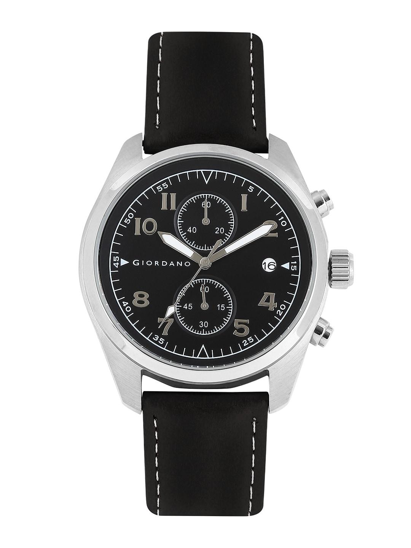 GIORDANO Men Black Dial Chronograph Watch 1683-01