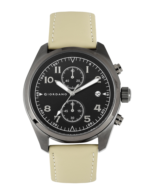 GIORDANO Men Black Dial Watch 1683-05