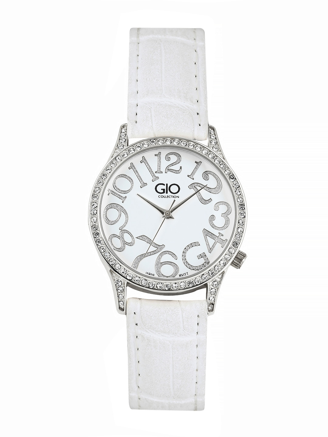 GIO COLLECTION Women White Dial Watch G0030-01