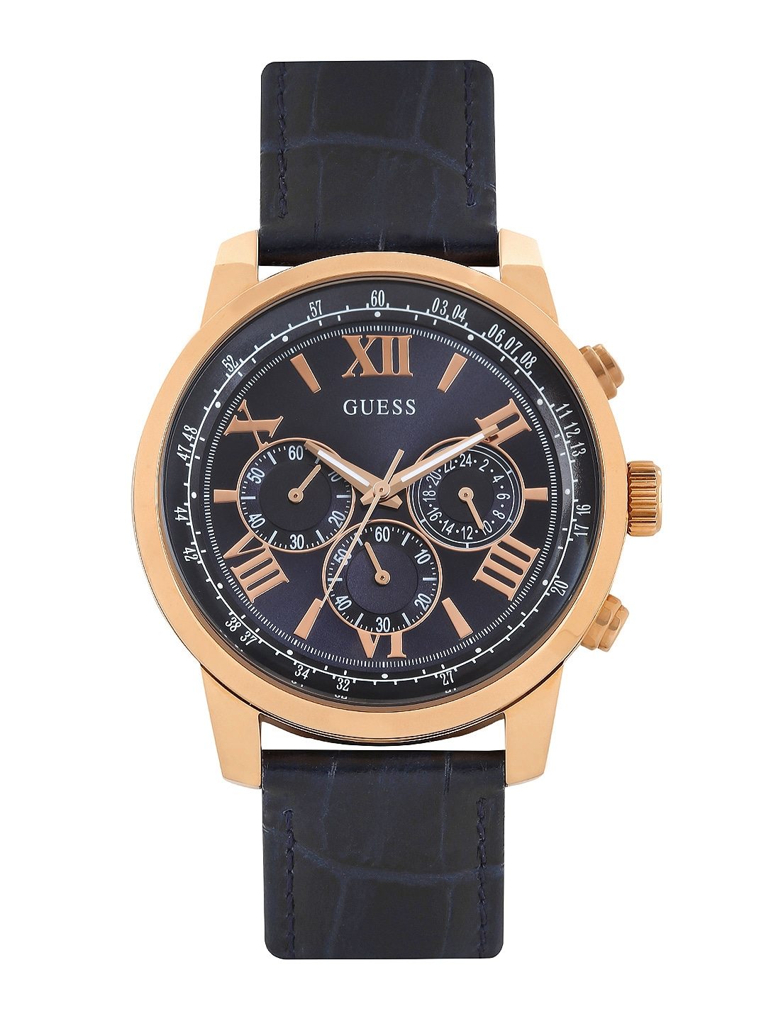 GUESS Men Navy Dial Chronograph Watch W0380G5