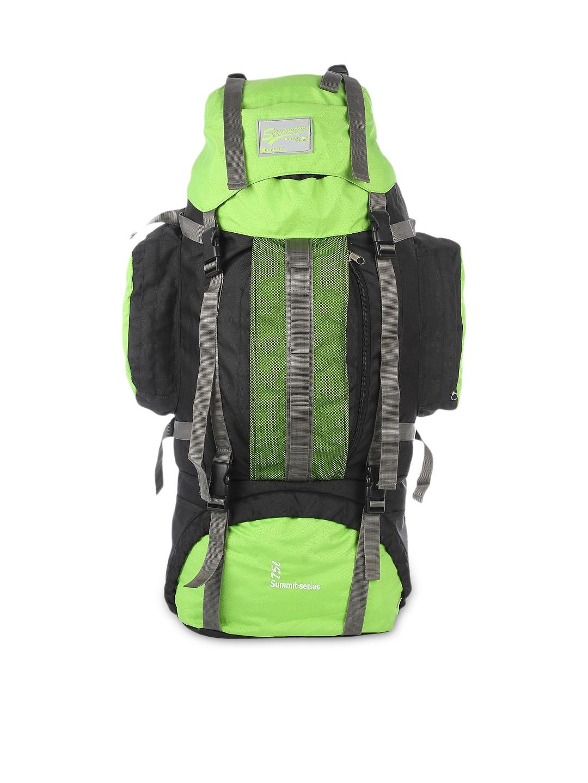 Impulse Unisex Green & Black Rucksack