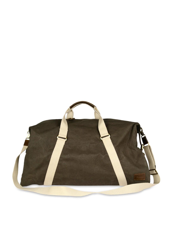 VIARI Men Olive Green Duffle Bag