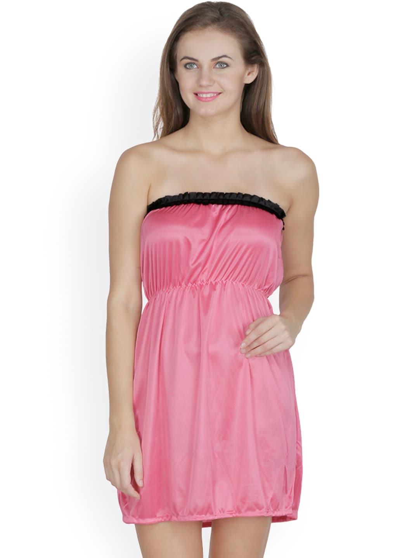 Klamotten Pink Baby-Doll Nightdress N63