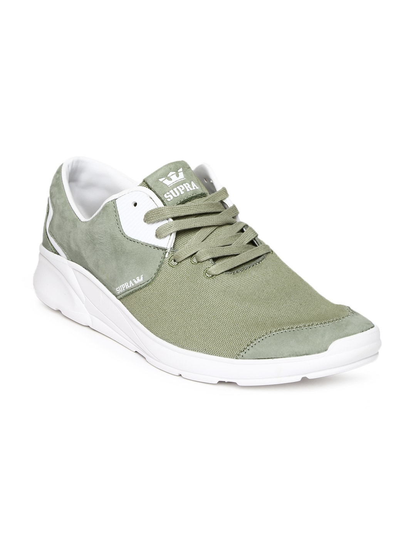 Supra Men Green Casual Shoes