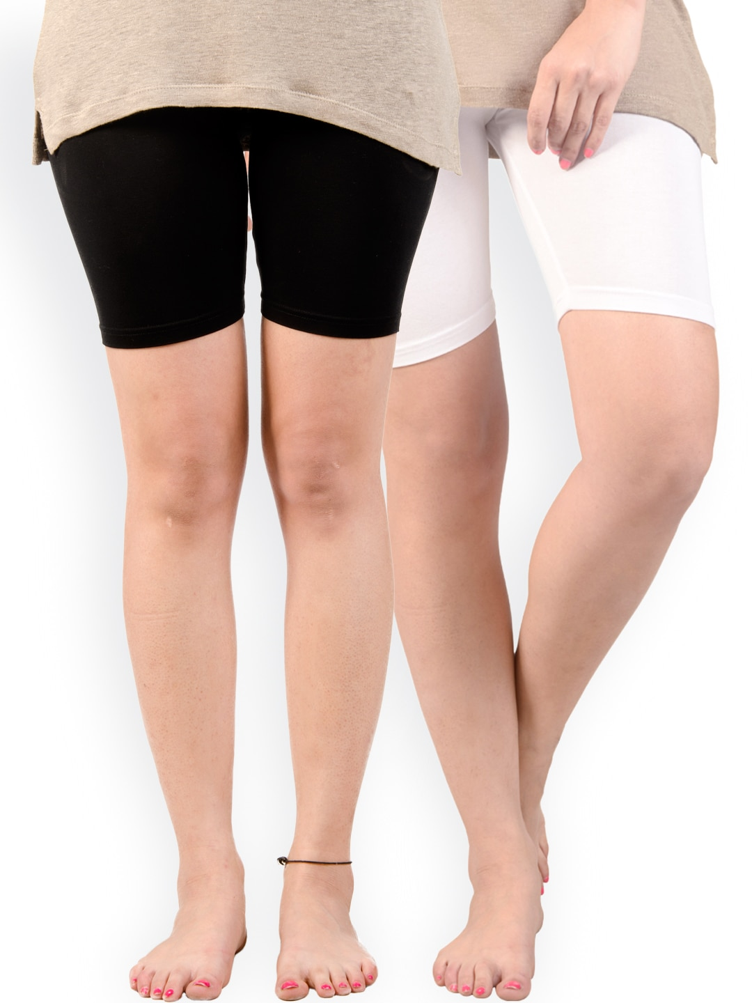 De Moza Pack of 2 Tights