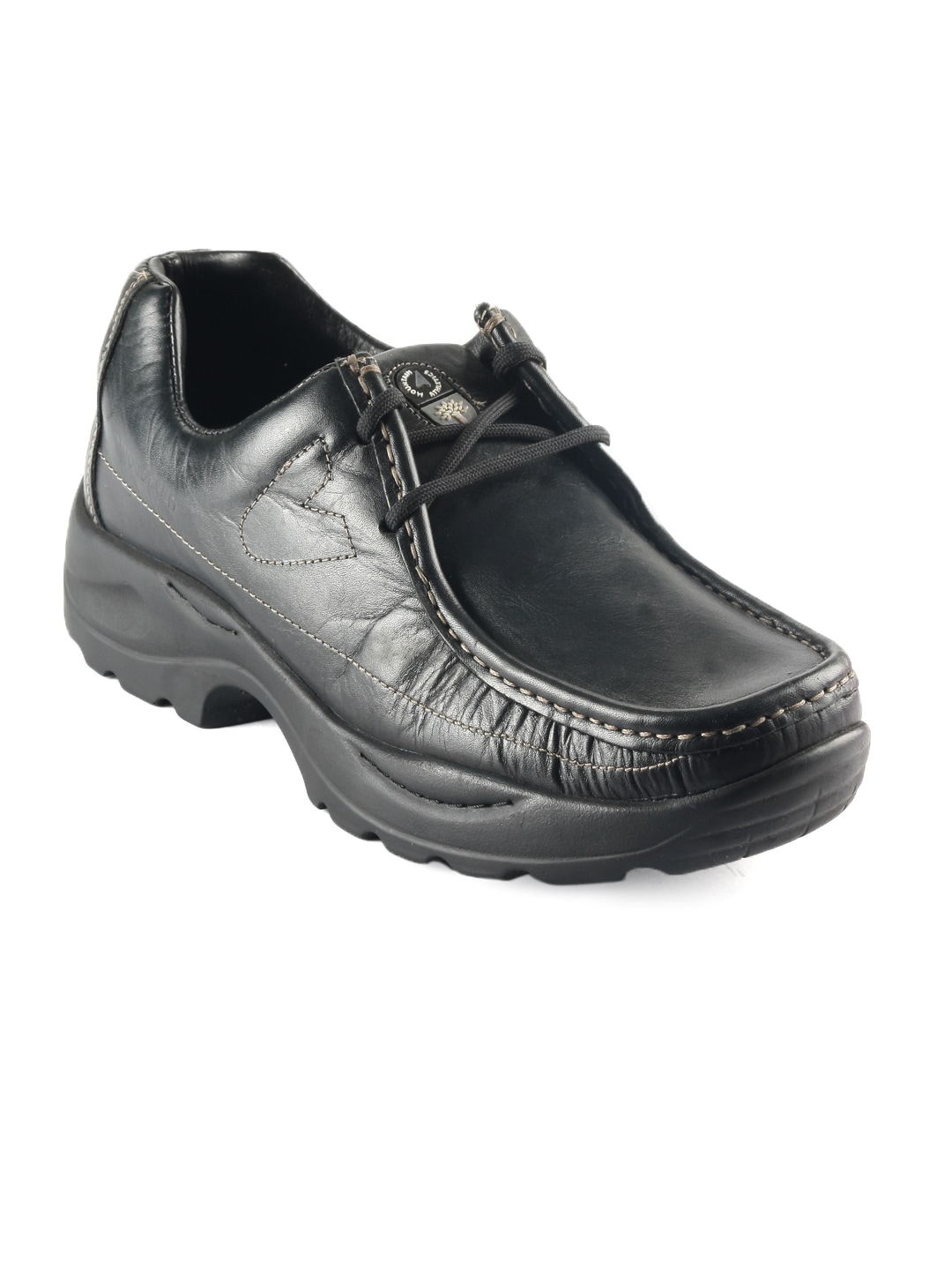 buy woodland black casual shoes 288 footwear for