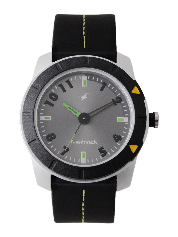 Fastrack Men Grey Dial Watch NA3015AL02
