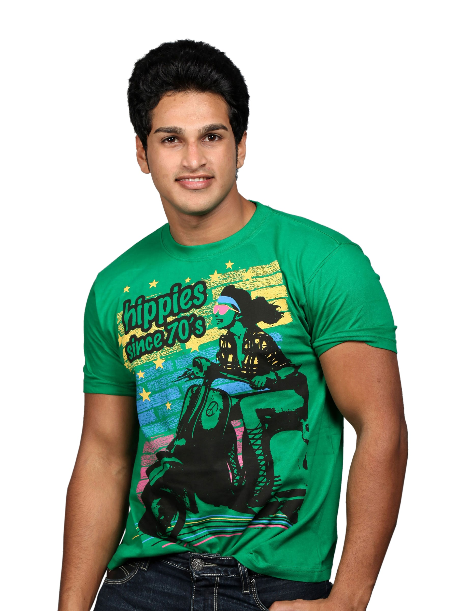 Inkfruit Inkfruit Men's Vespa Green T-Shirt (Multicolor)