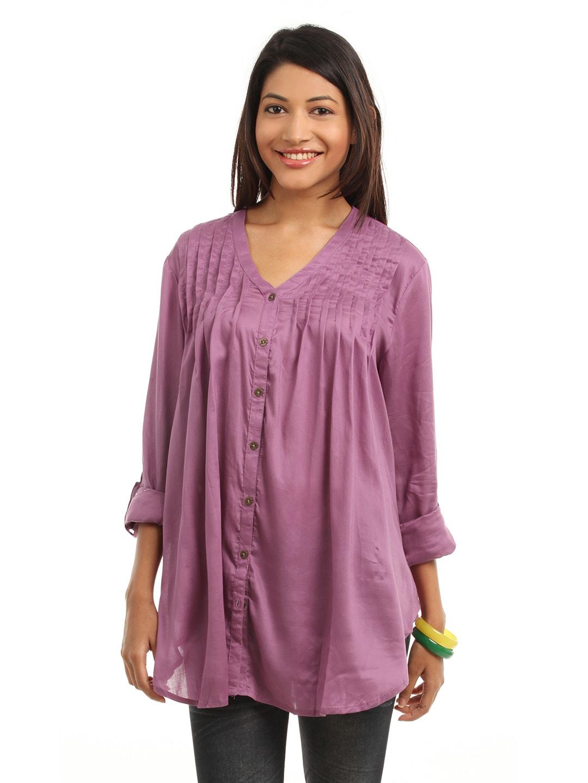 ONLY Women Purple Tunic