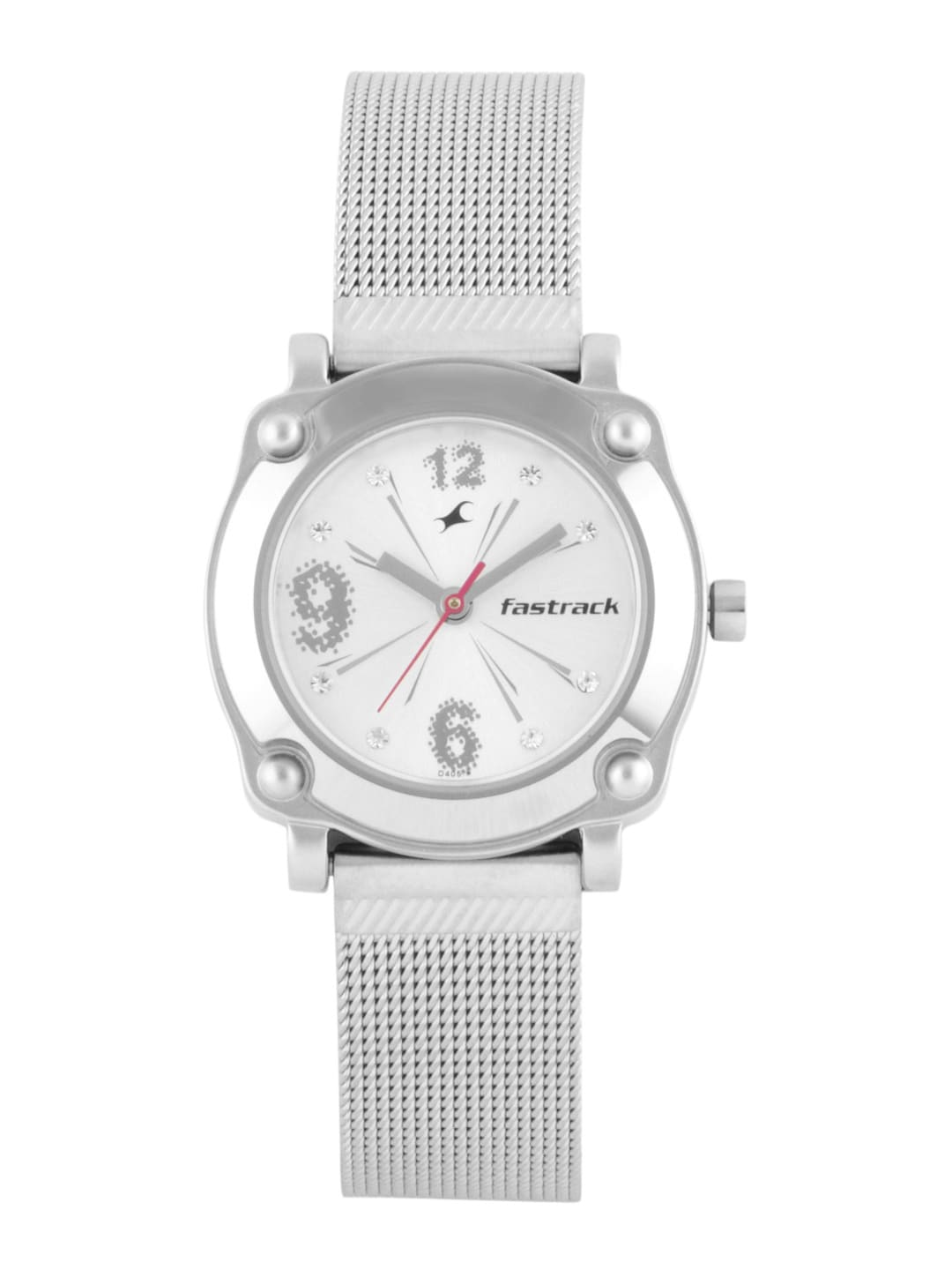 Fastrack Women White Dial Watch NB6027sm01