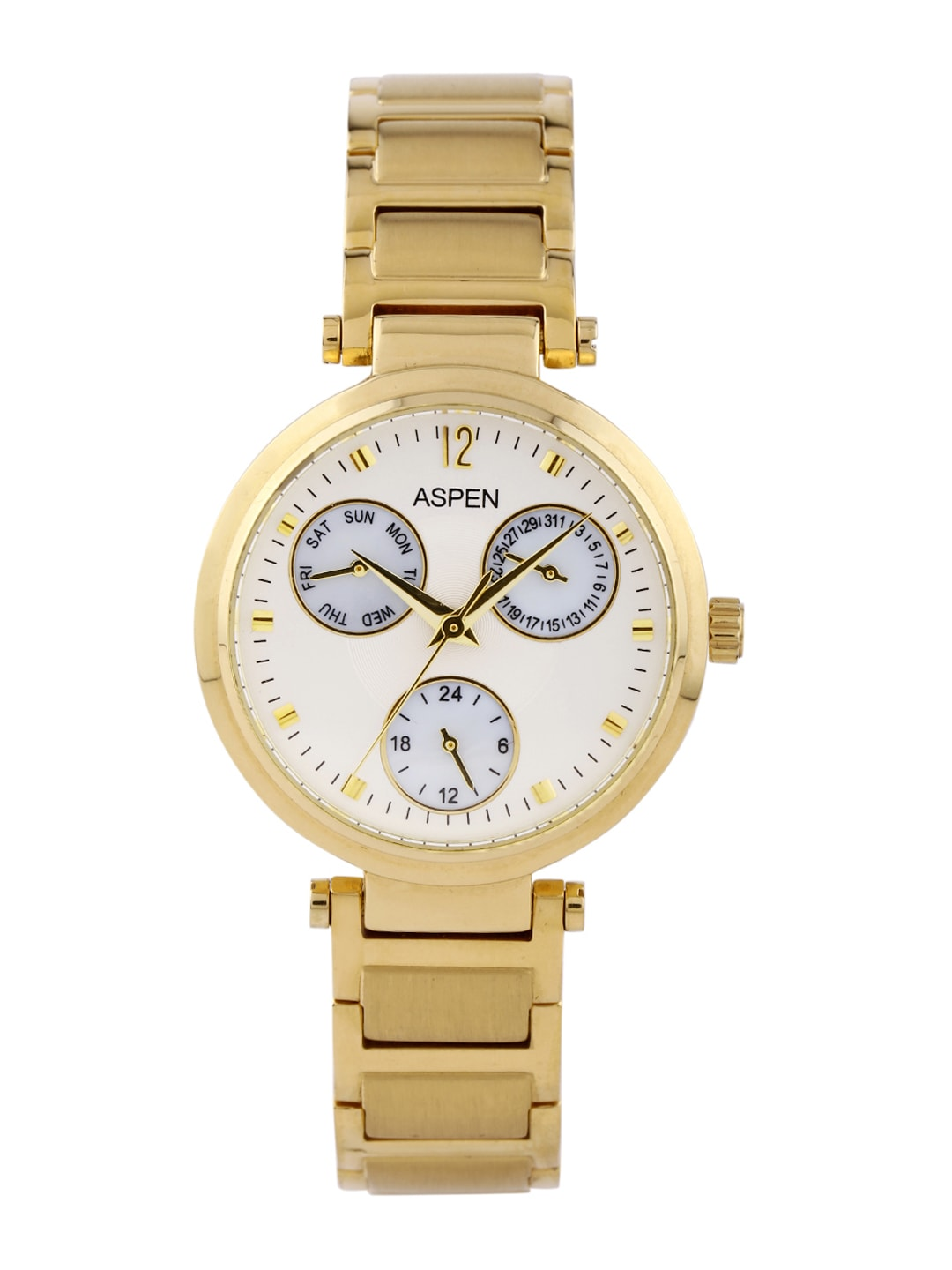 ASPEN Women Cream-Coloured Dial Watch AP1670
