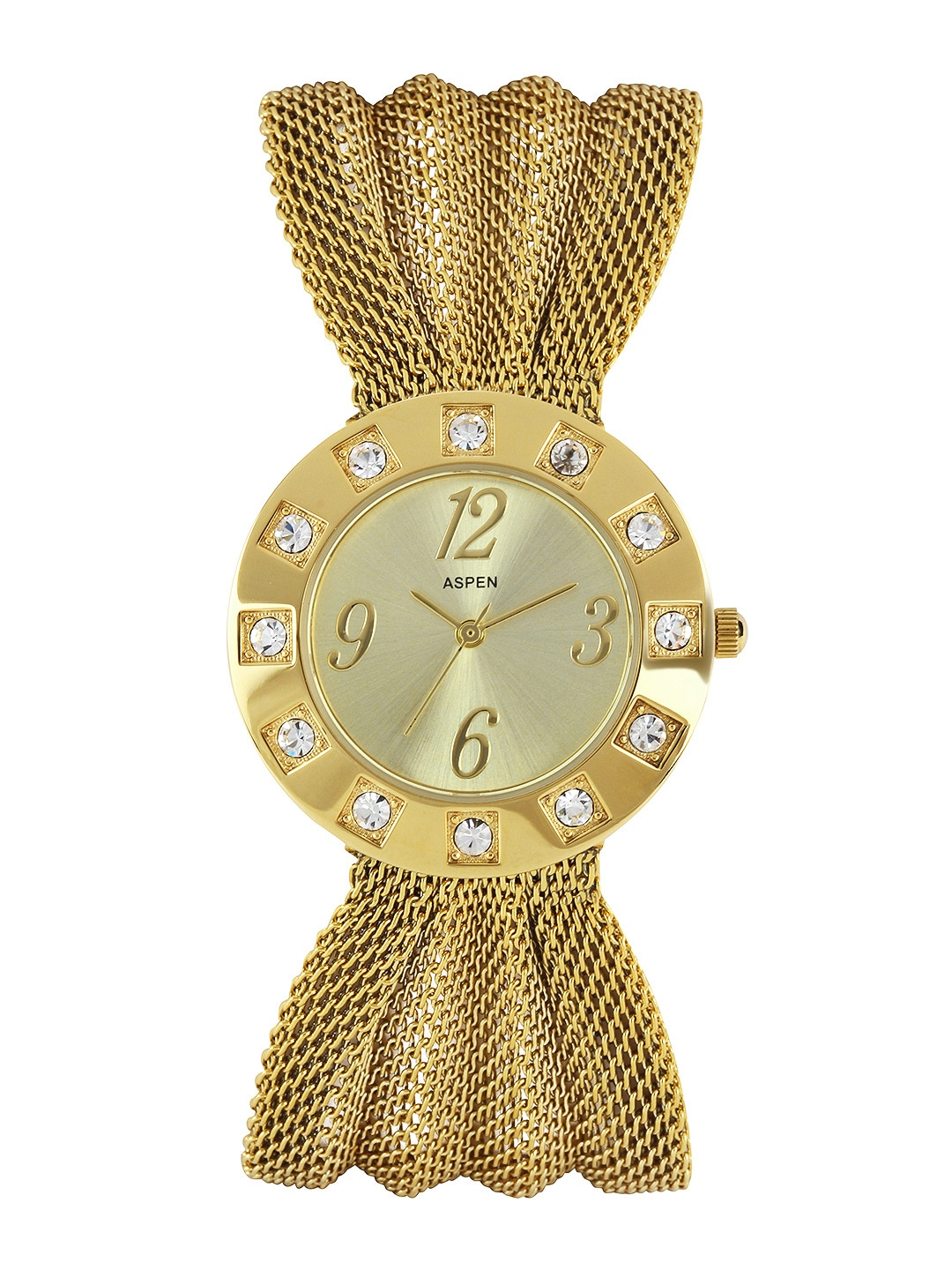 ASPEN Women Gold-Toned Dial Watch AP0013