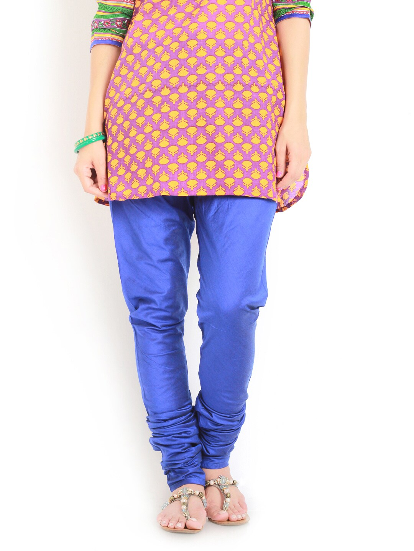 Aaboli Women Blue Churidar
