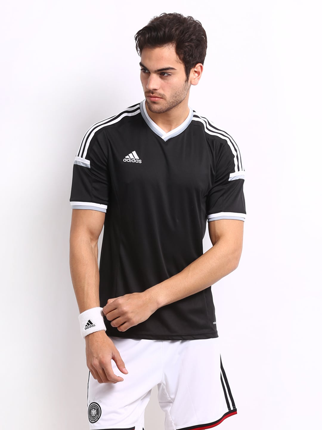Adidas Adidas Men Black T-Shirt (Multicolor)