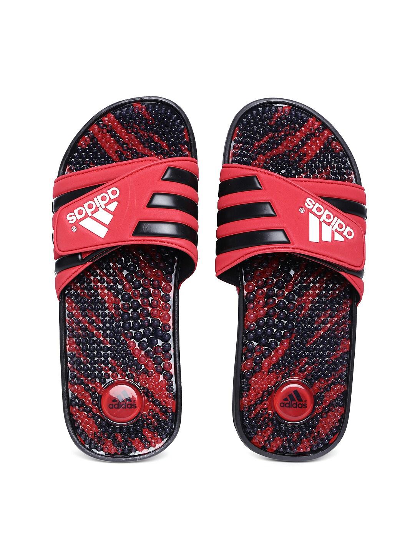 Adidas Adidas Men Red Adissage GR 2 Flip-Flops