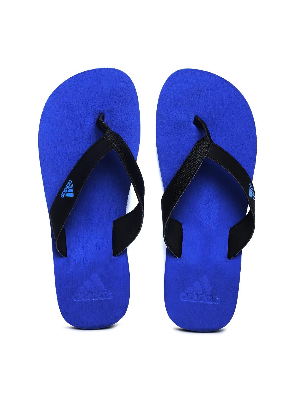 Adidas Adidas Men Black Flip-Flops