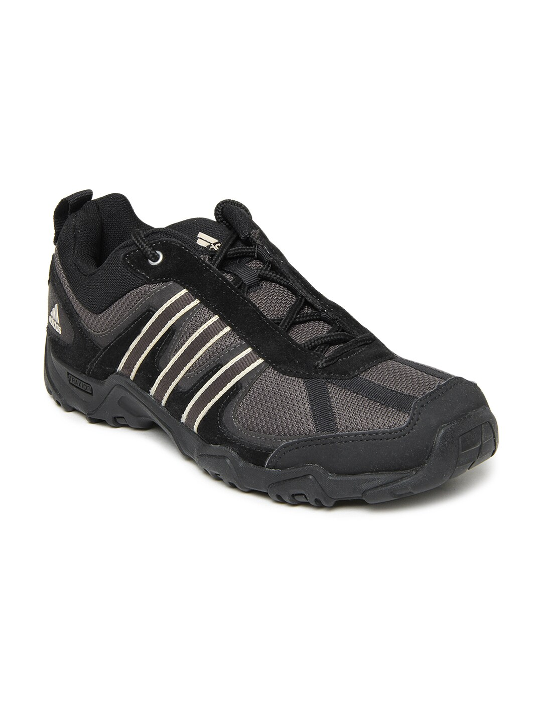 Adidas Men Grey & Black Alphard Casual Shoes