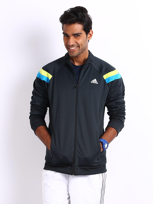Adidas Adidas Men Navy Jacket (Blue)