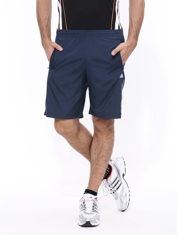 Buy Adidas Men Navy Blue Short - Shorts for Men | Myntra