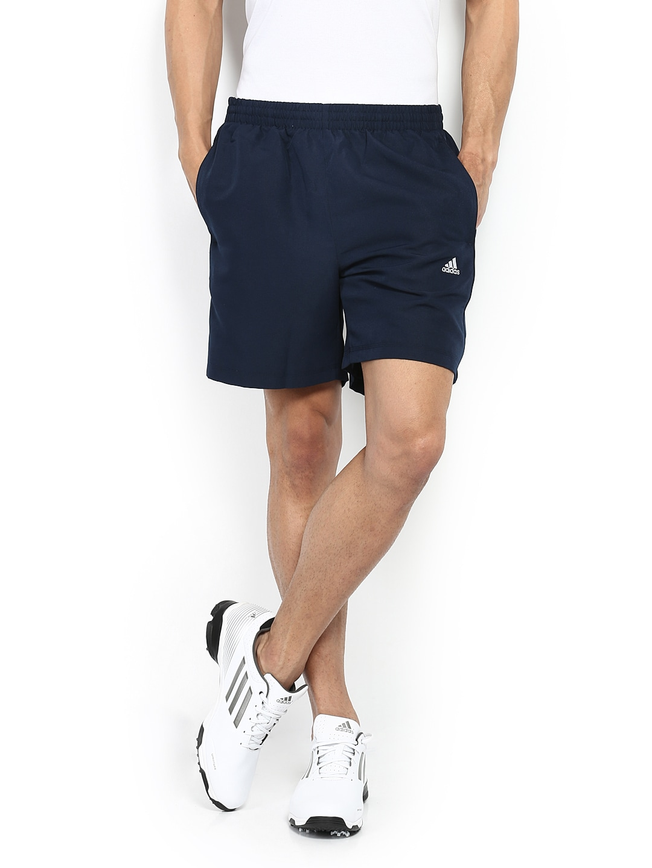 Buy Adidas Men Navy Running Shorts - Shorts for Men | Myntra