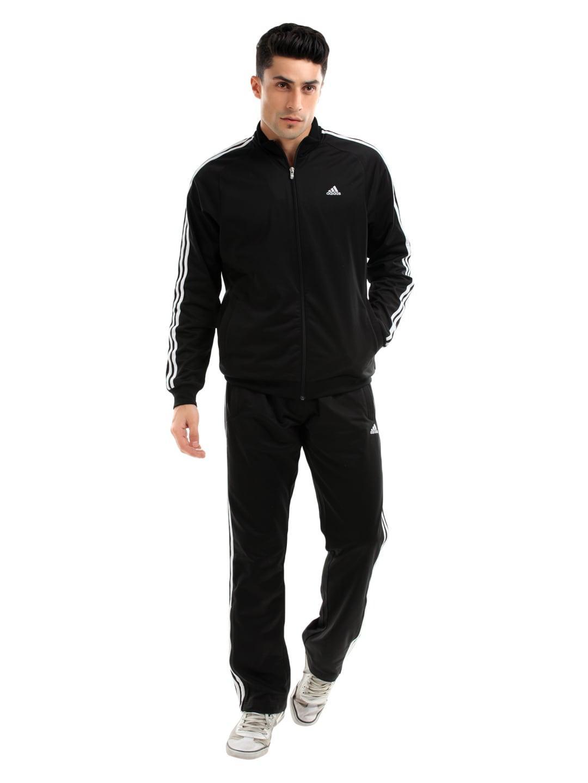 Buy Adidas Men Black Climalite Tracksuit 524 Apparel