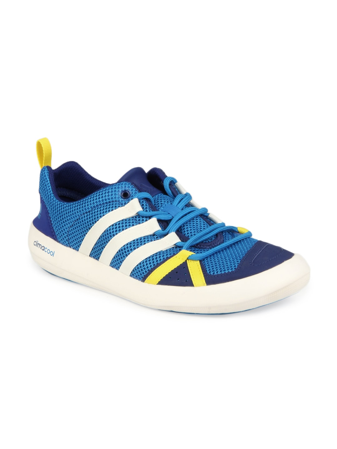 buy adidas unisex blue climacool boat lace casual shoes. Black Bedroom Furniture Sets. Home Design Ideas