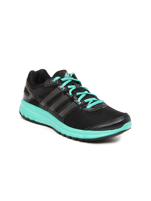 adidas black duramo 6 sports shoes