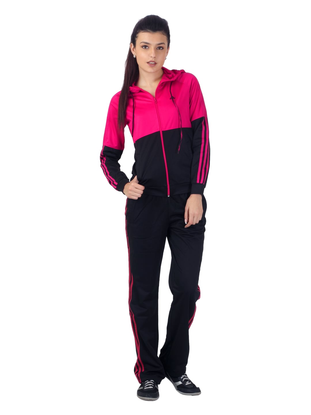 Buy Adidas Women Pink Tracksuit 524 Apparel For Women