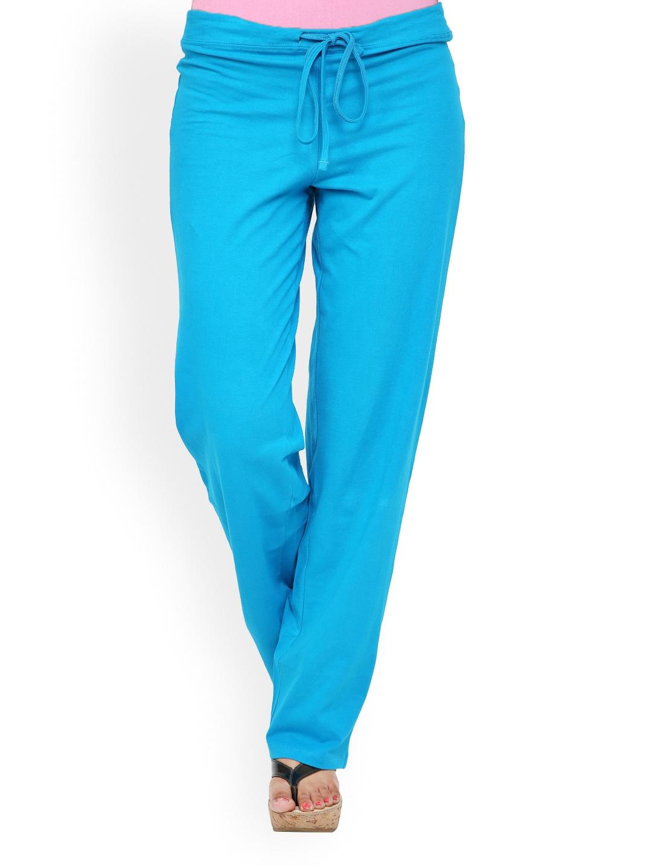Alba Women Blue Lounge Pants PJ009F