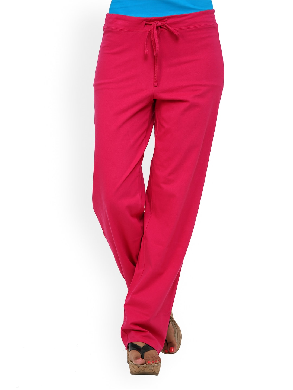 Alba Women Magenta Lounge Pants PJ009M