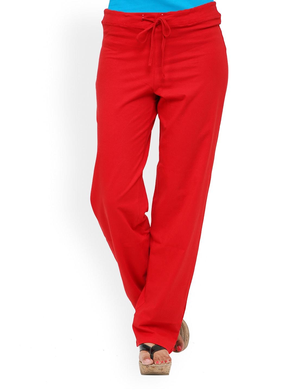 Alba Women Red Lounge Pants PJ009R