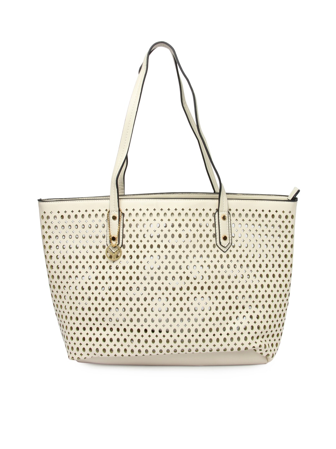 Style Tribe Womens Off-White Shoulder Bag at Sears.com