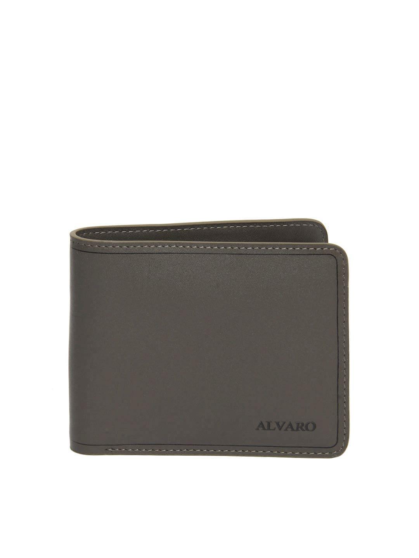 Alvaro Castagnino Men Mushroom Brown Leather Wallet