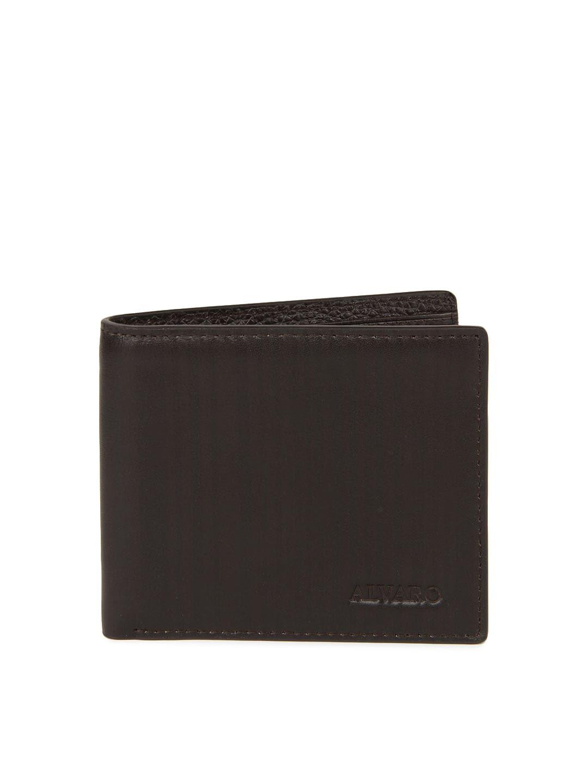 Alvaro Castagnino Men Coffee Brown Wallet