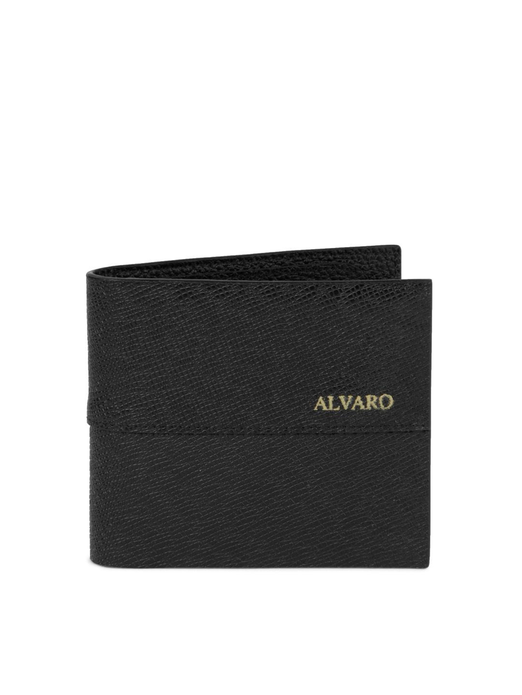 Alvaro Castagnino Men Black Wallet