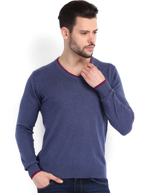 Arrow Sport Men Blue Sweater