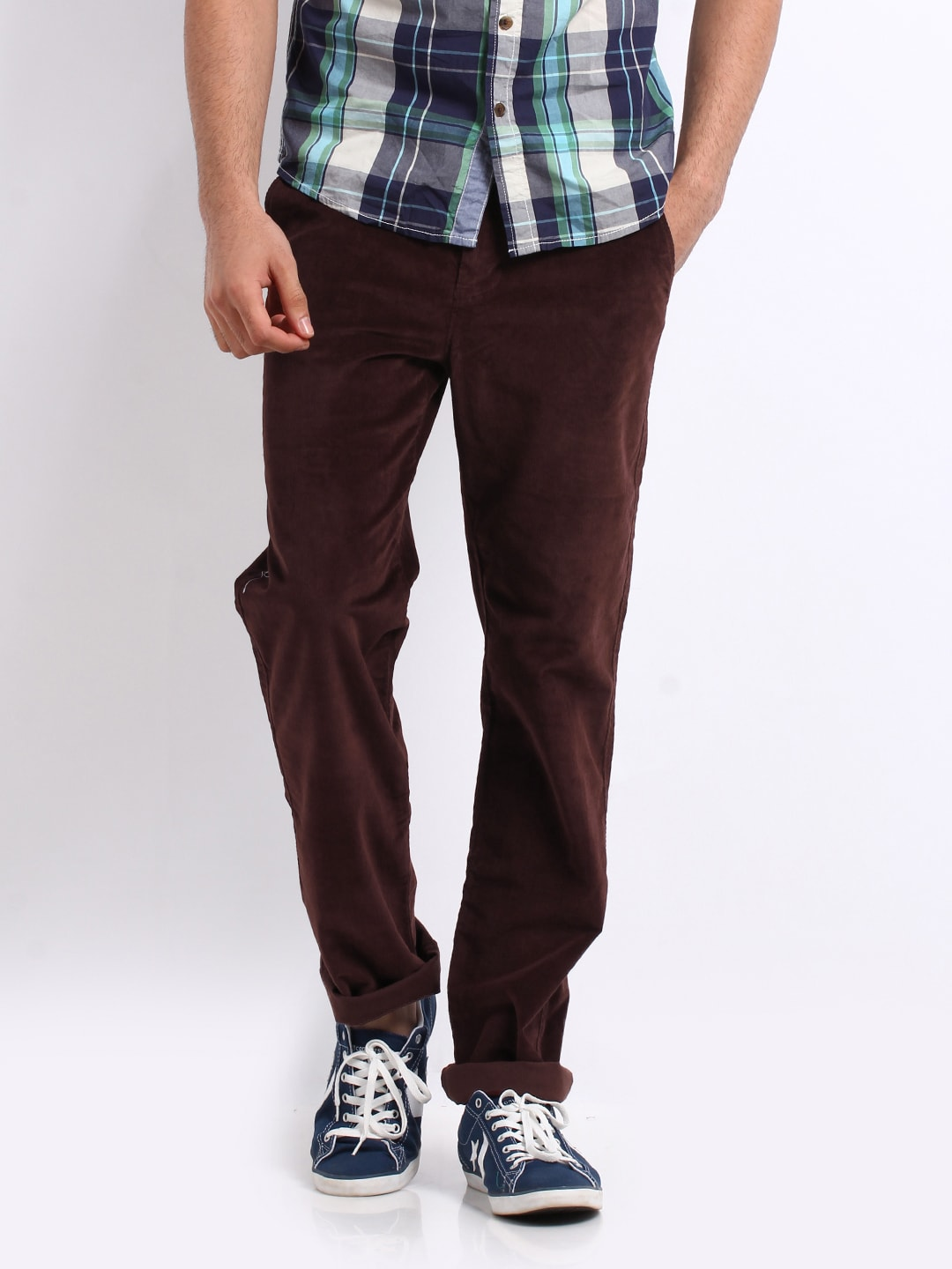 slim fit corduroy pants men - Pi Pants