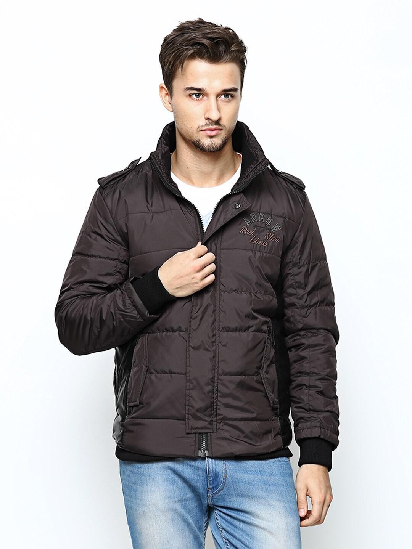 Arrow Sport Men Dark Brown Jacket
