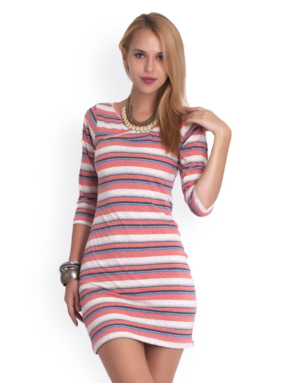 Belle Fille Multicoloured Bodycon Dress