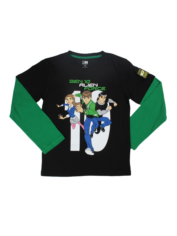 Buy Ben 10 Boys Black T Shirt - 289 - Apparel for Boys
