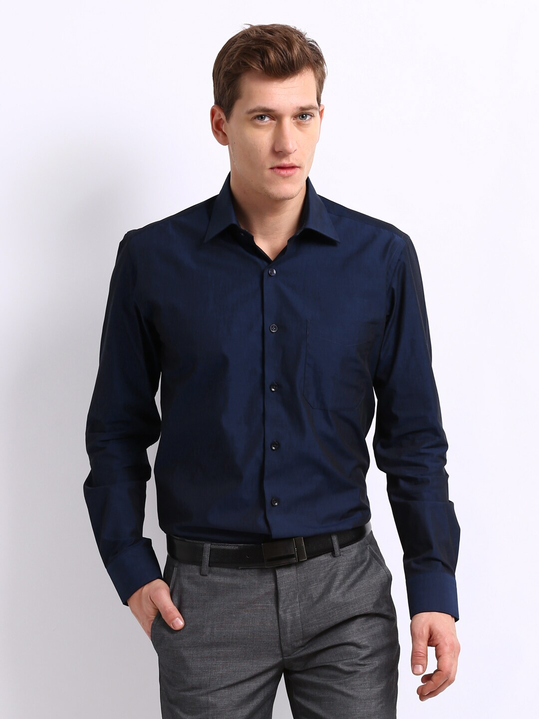 Blue Dress Shirts for Men at Macy's come in a variety of styles and sizes. Shop top brands for Men's Dress Shirts and find the perfect fit today. Macy's Presents: The Edit- A curated mix of fashion and inspiration Check It Out. Free Shipping with $49 purchase + Free Store Pickup. Contiguous US.