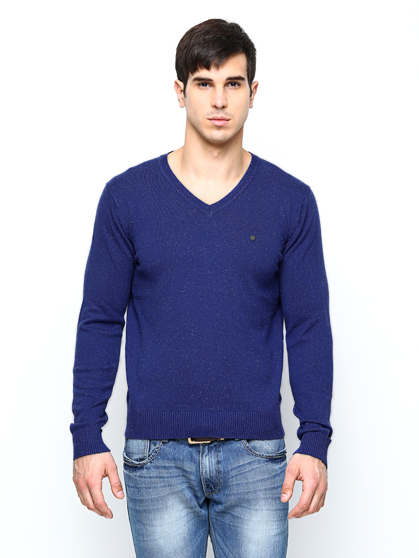 Blackberrys Blackberrys Men Blue Sweater