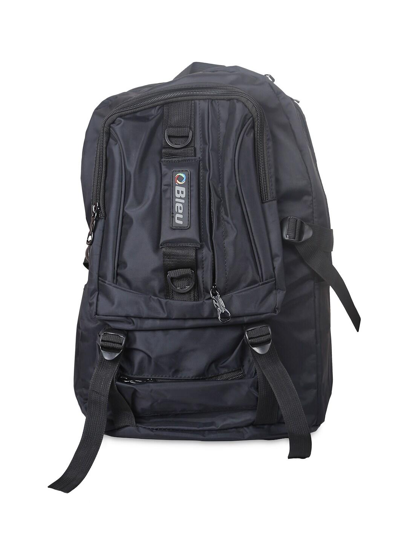 Bleu Unisex Black Backpack