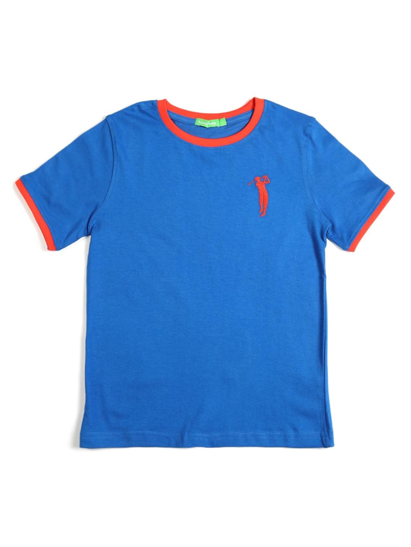 Bossini Bossini Kids Boys Blue T-Shirt (Multicolor)