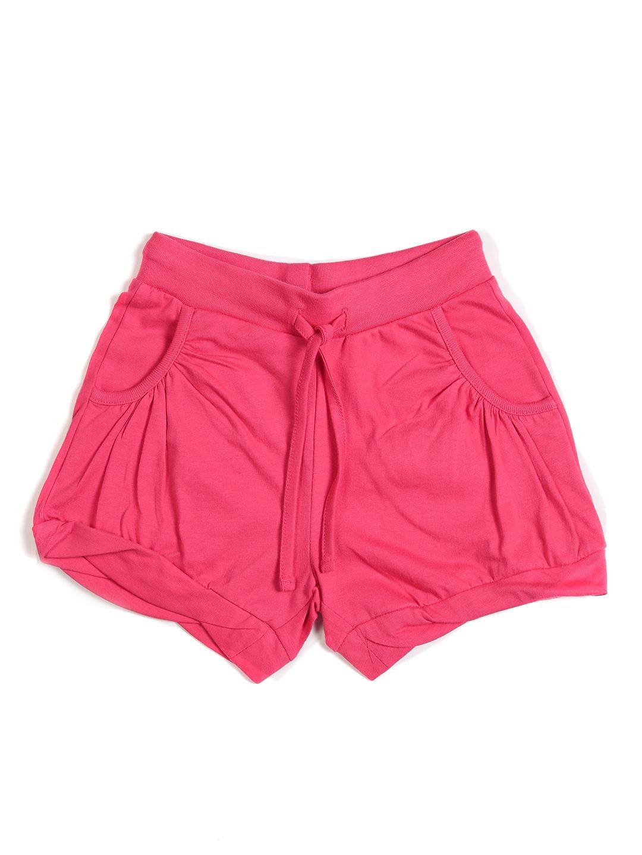 Bossini Bossini Kids Girls Pink Shorts (Multicolor)