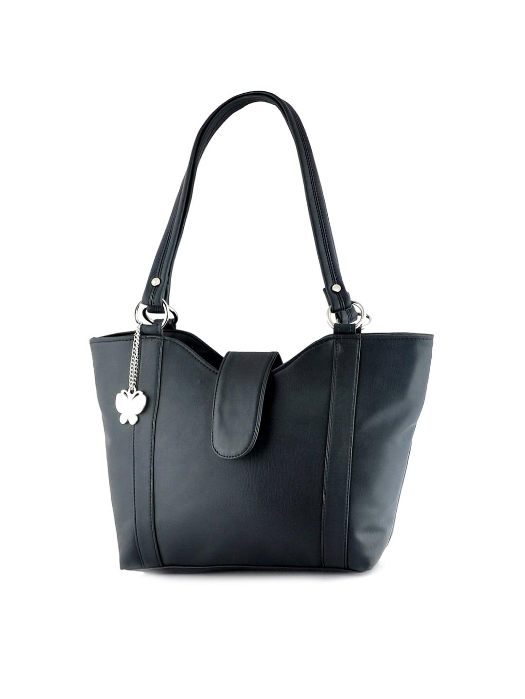 Butterflies Charcoal Grey Handbag