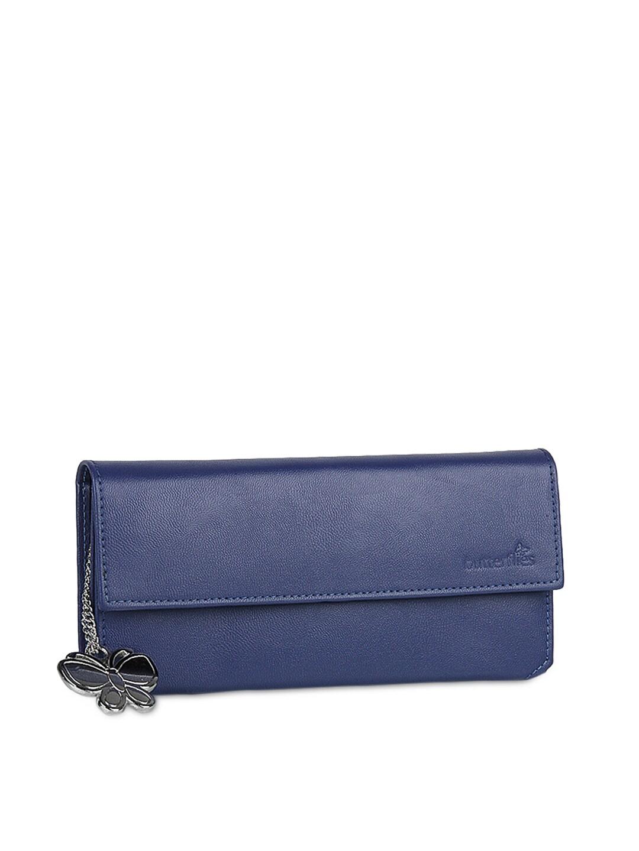 Butterflies Women Blue Wallet